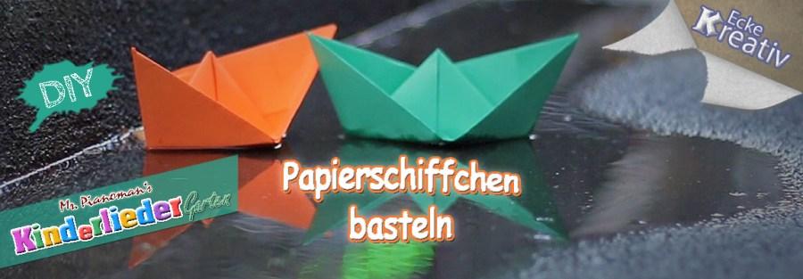 DIY :: Papierschiffchen basteln