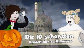Die 10 schönsten Kinderlieder zu Halloween