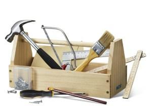 Werkzeugkasten für kinder