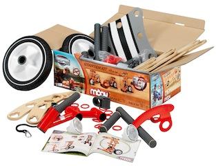 Preisgekrönt ist das neue Holzspielzeug MOOV von BERG Toys. Fotos. (c) BERG Toys