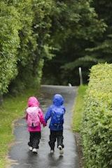 Kinderjacken, wie die von Bergans, sind im Frühjahr mit all seinen Wetterkapriolen perfekte Begleiter. Foto (c)  Bergans