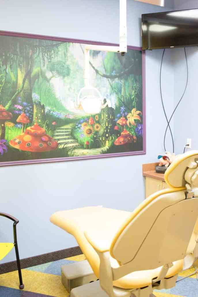 kindersmiles pediatric dentistry and orthdontics office interior