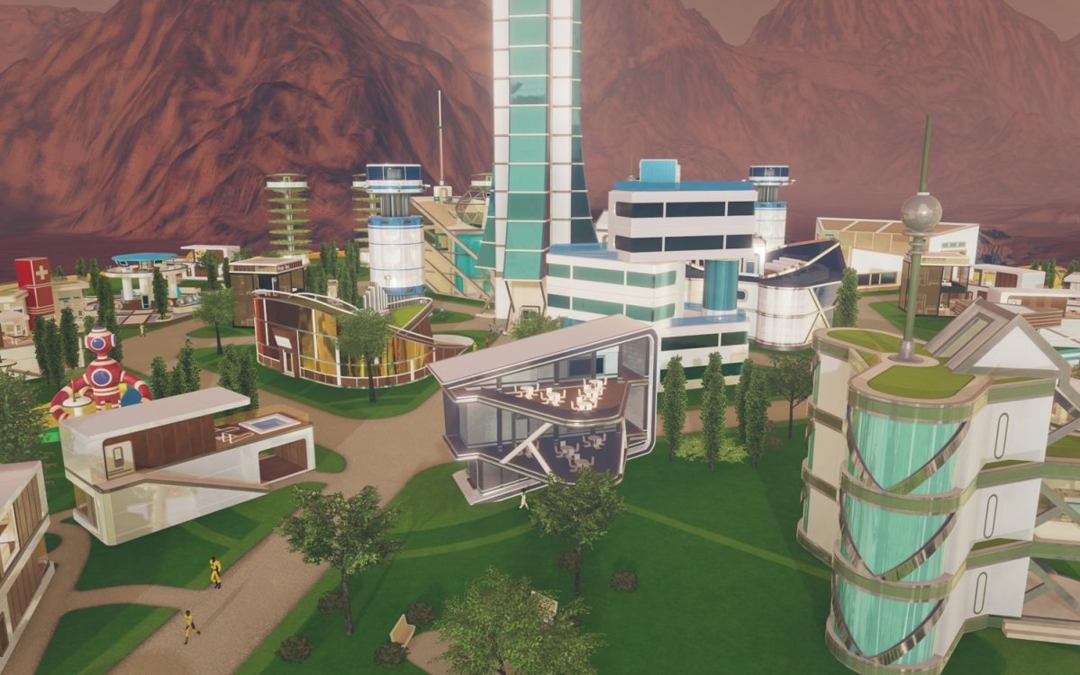 Surviving Mars - Green Planet / Project Laika