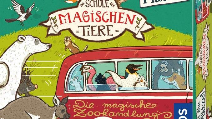 Die Schule Der Magischen Tiere Auf Die Platze Familienspielmagazin