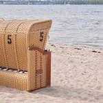 Möltenorter Strand Strandkorb