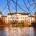 Blick aus dem Park - Schloss Salzau