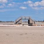 Seebrücke - Strand von Stein