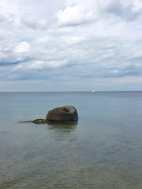 Stein in der Hohwachter Bucht