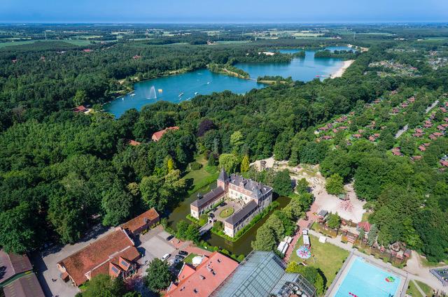 Luftbild (c) Ferienzentrum Schloss Dankern
