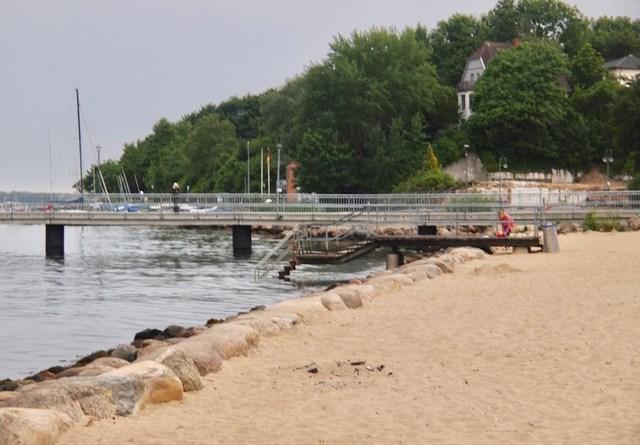 Wassereinstieg Mönkeberger Strand