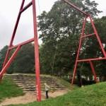 Riesentarzanschaukel -Spielplatz Schützenplatz in Kiel