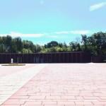 Vorplatz des Ehrenmals - Marine-Ehrenmal Laboe