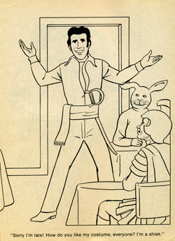 happy days halloween coloring book