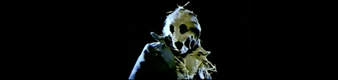 dark night scarecrow field
