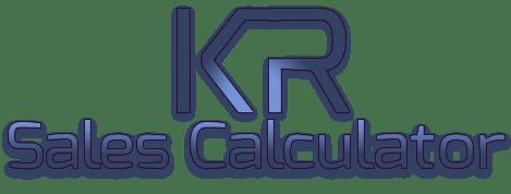 KR sales calculator