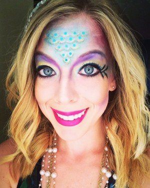 Mystical Mermaid Halloween Look