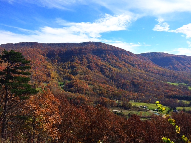 Southwest Virginia Mountains-Big Stone Gap