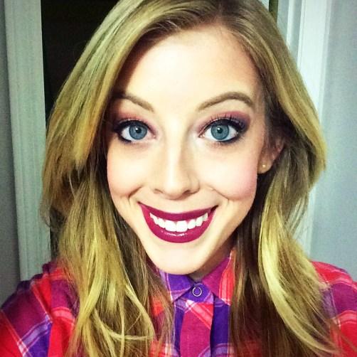 fall leaves inspired eye makeup tutorial