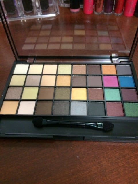 elf all about nude eyeshadow palette