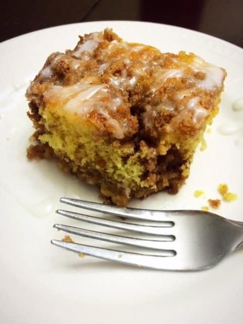 Graham Cracker Coffee Cake