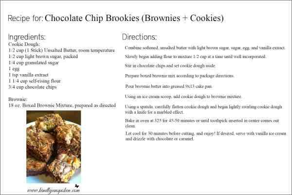 Chocolate Chip Brookies