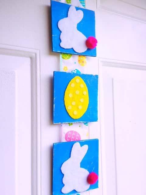 Easter Tile Door Hanger DIY (19) & Easter Tile Door Hanger (DIY) - Kindly Unspoken