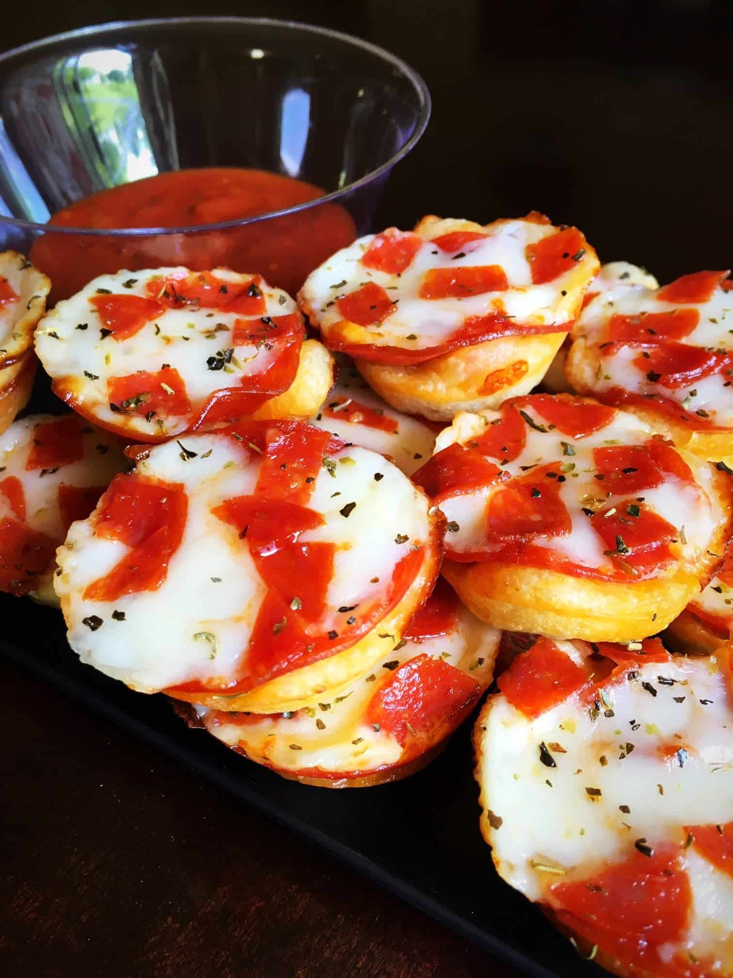 Easy Mini Pepperoni Pizza Cups (9)