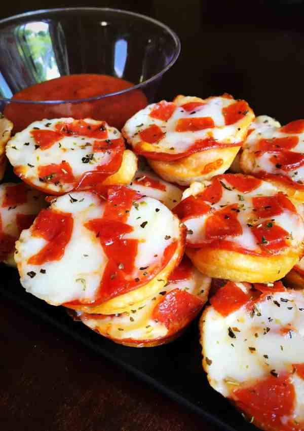 Delicious and Easy Mini Pepperoni Pizza Cups