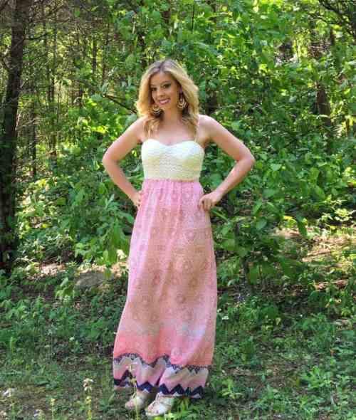 Print Maxi Dress (1)