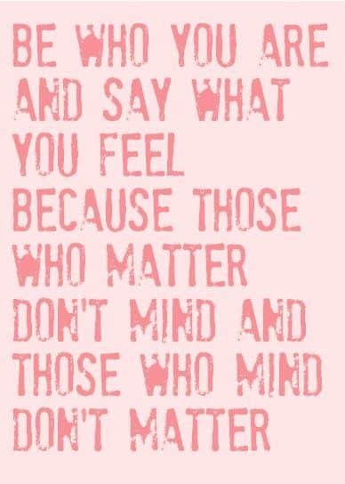 be who you are dr. seuss