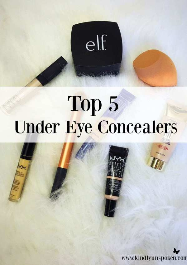 Top 5 Under Eye Concealers for Dark Circles
