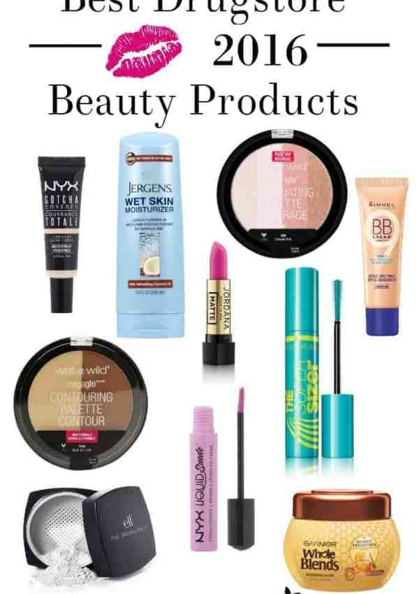 Best Drugstore Beauty Products of 2016
