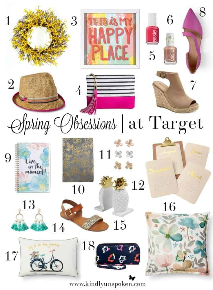 Spring 2017 Obsessions at Target