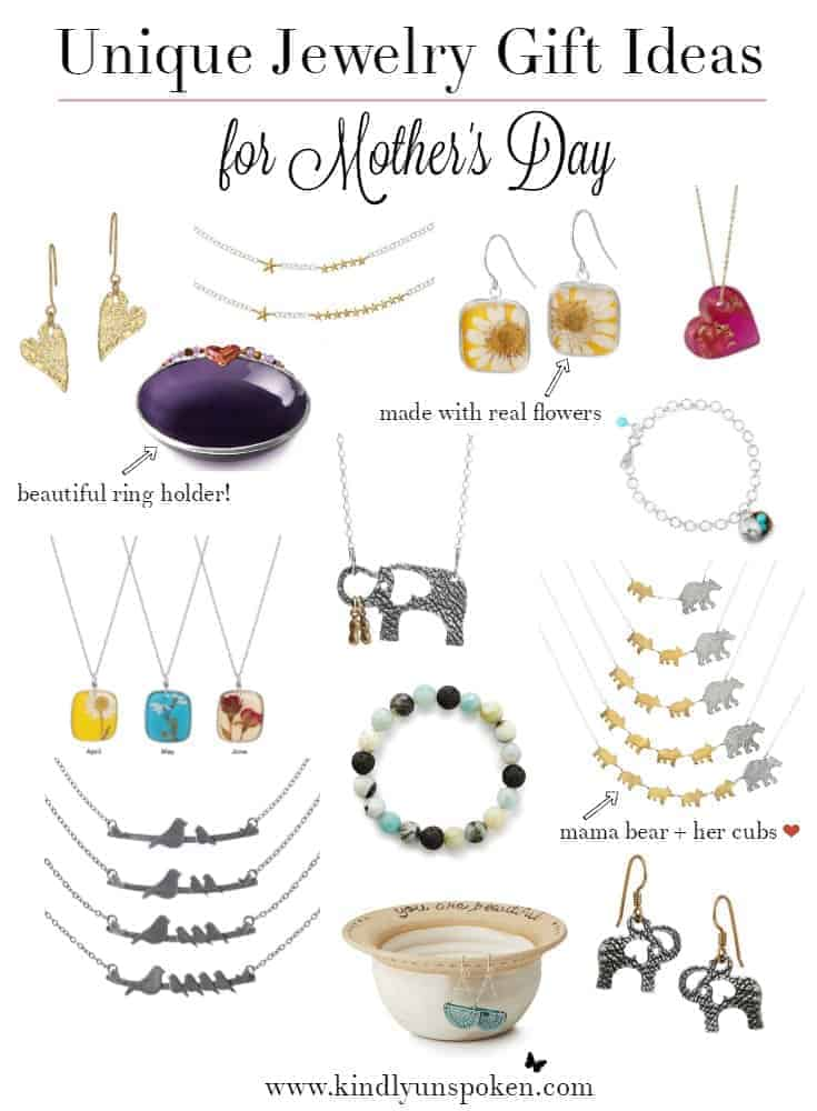 Unique Jewelry Gift Ideas for Mother's Day