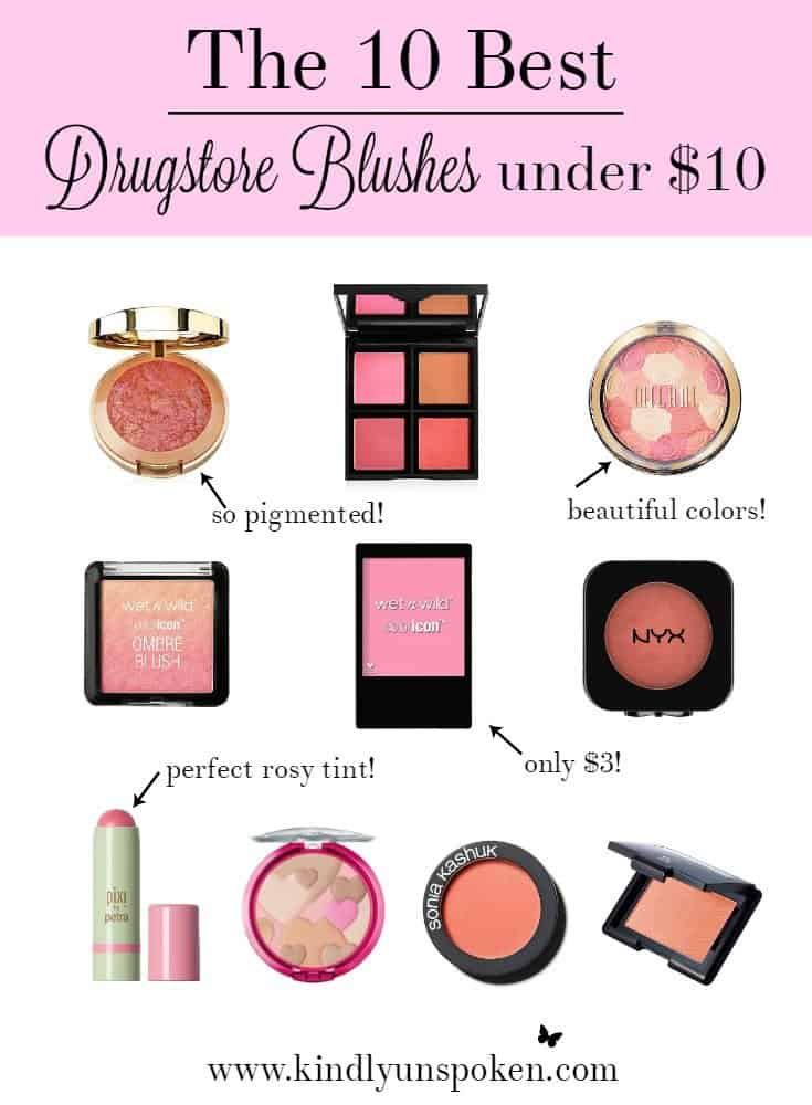 The 10 Best Drugstore Blushes under $10