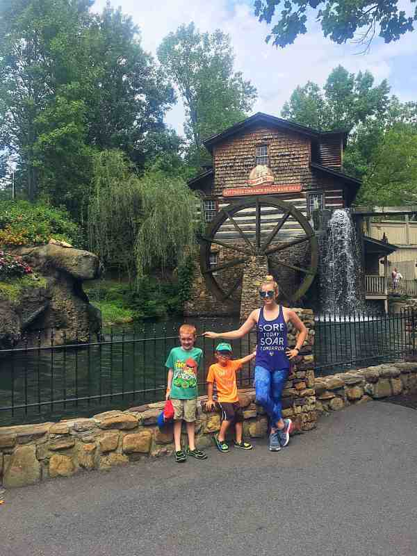 Family Fun at Dollywood and the Island Pigeon Forge TN