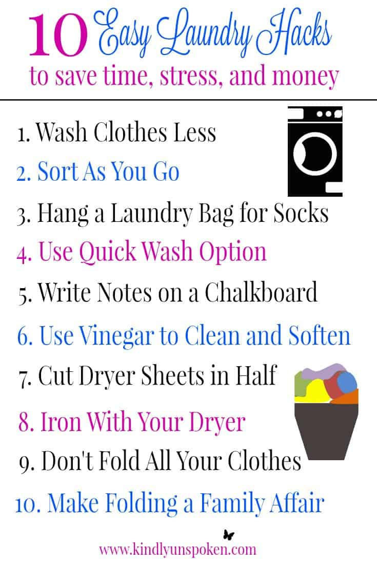 10 Easy Laundry Hacks To Save Time, Stress, and Money