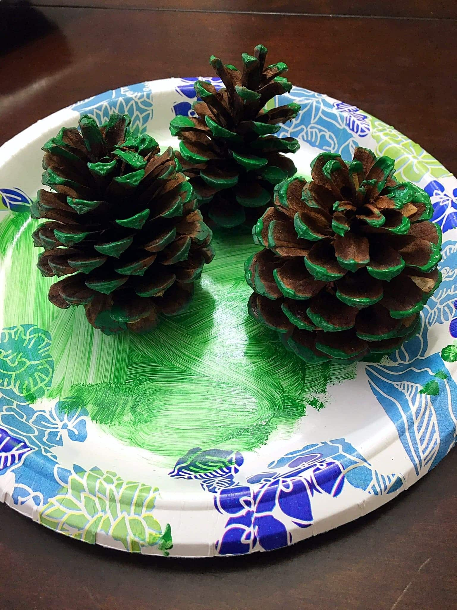 Easy + Adorable Kids Pinecone Christmas Ornaments  These Adorable