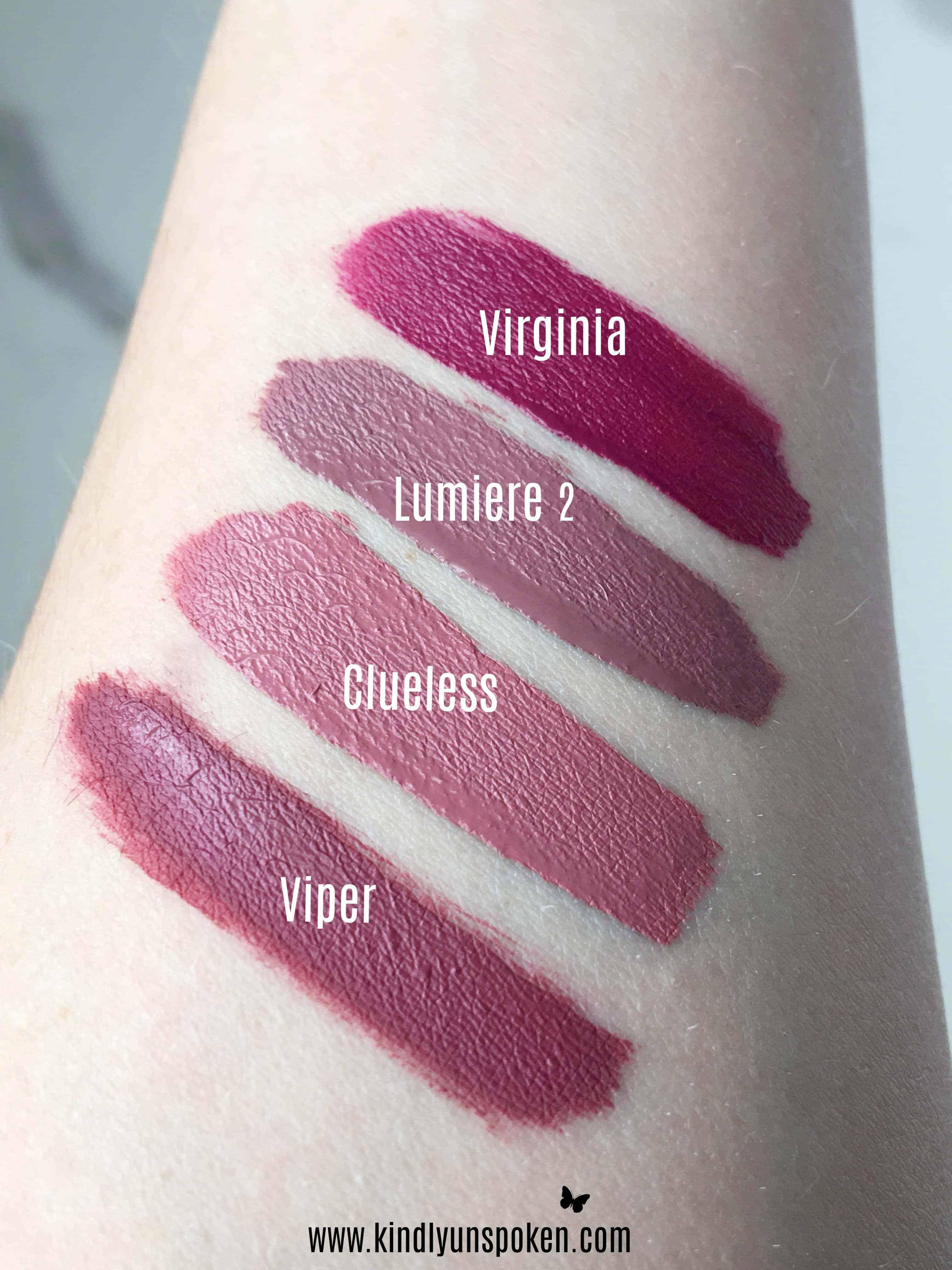 Best ColourPop Lipsticks- Review + Swatches