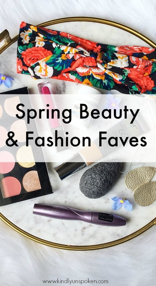 Today I'm sharing a roundup of my spring beauty and fashion favorites for 2018! I'm sharing my favorite spring makeup items, must-have beauty products, and adorable and trendy accessories that every girl will want to add to her collection this spring! #beautyfavorites #springbeauty #springmakeup #springaccessories