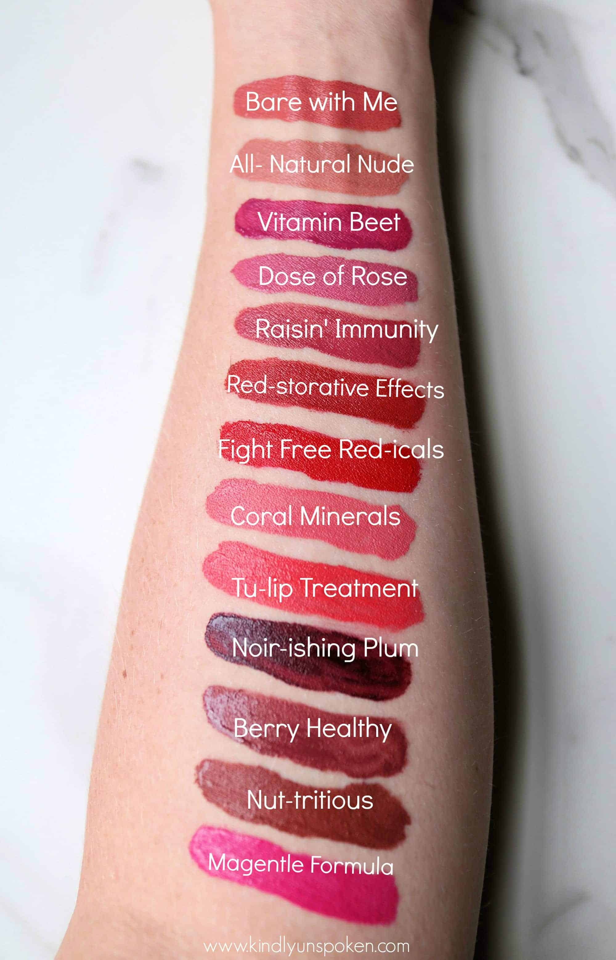 On the hunt for a gorgeous, long-lasting drugstore liquid lipstick? Then you'll love the Physicians Formula Healthy Lip Velvet Liquid Lipsticks that come in 13 beautiful shades and last all day long! Check out my the post for a full review of the Physicians Formula lipsticks with swatches.