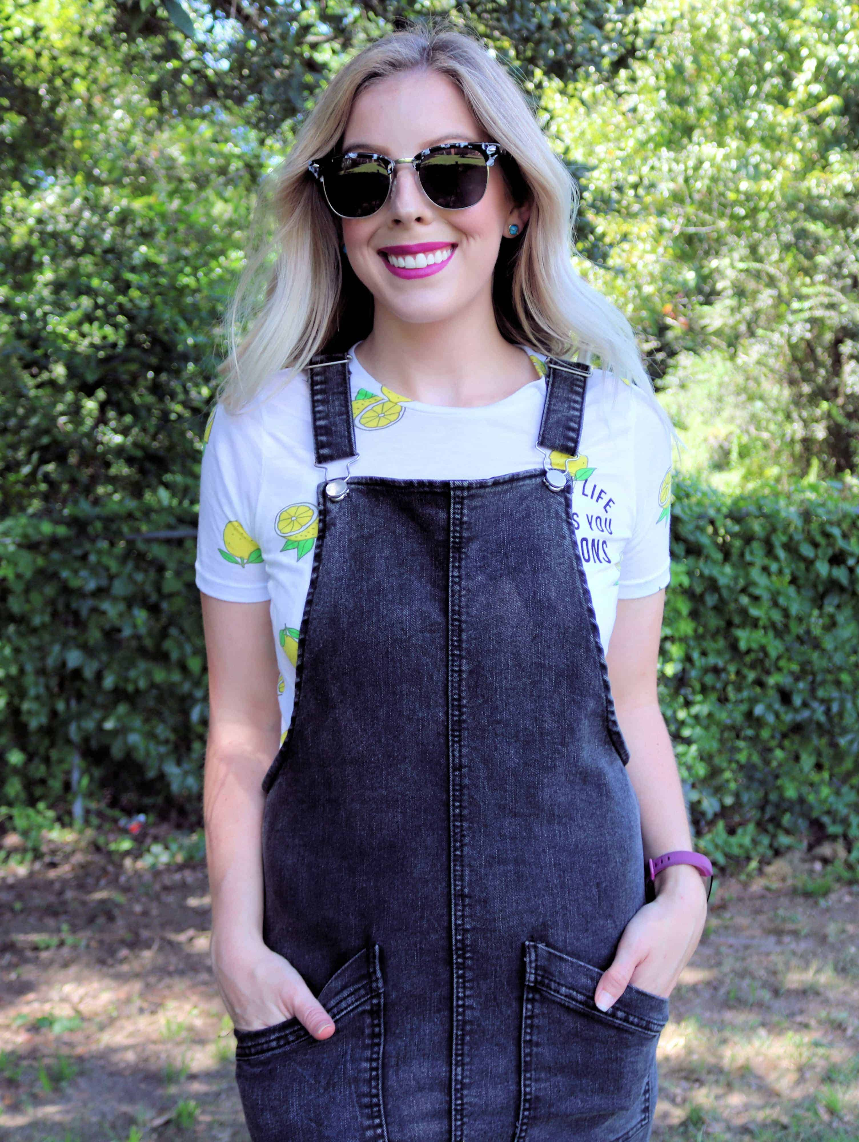 Sharing one of my favorite fashion items today for transitioning from summer to fall-Denim Overall Dresses! They're super cute and look great styled so many ways!Check out how I'm styling my favorite overall dress here.