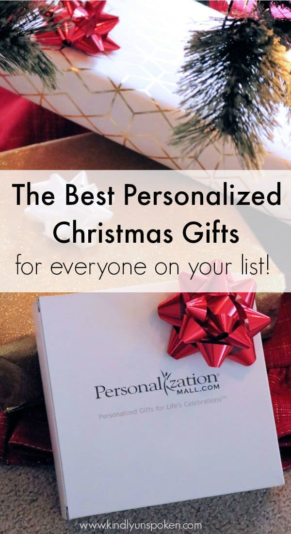 Personalized Christmas gifts are great for everyone on your list! Check out my roundup of & Personalized Christmas Gifts For Everyone On Your List + Giveaway ...