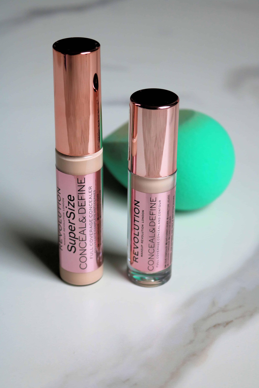 Is the Makeup Revolution Conceal & Define Concealer a dupe for the Tarte Shape Tape?