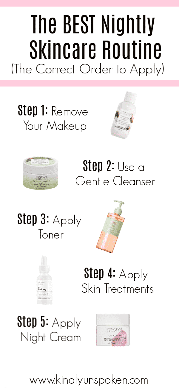 Ready to switch up your skincare routine this year? Check out my post on the best night skincare routine with affordable products you need in your collection. I'm also sharing the correct order to apply all your skincare products! #ad #physiciansformula #skincare #skincareroutine