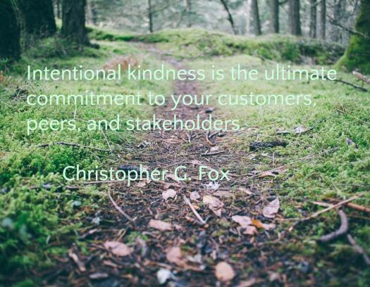 Intentional Kindness definition
