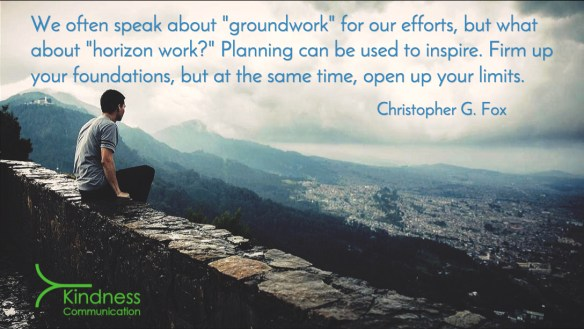 Definition of horizon work