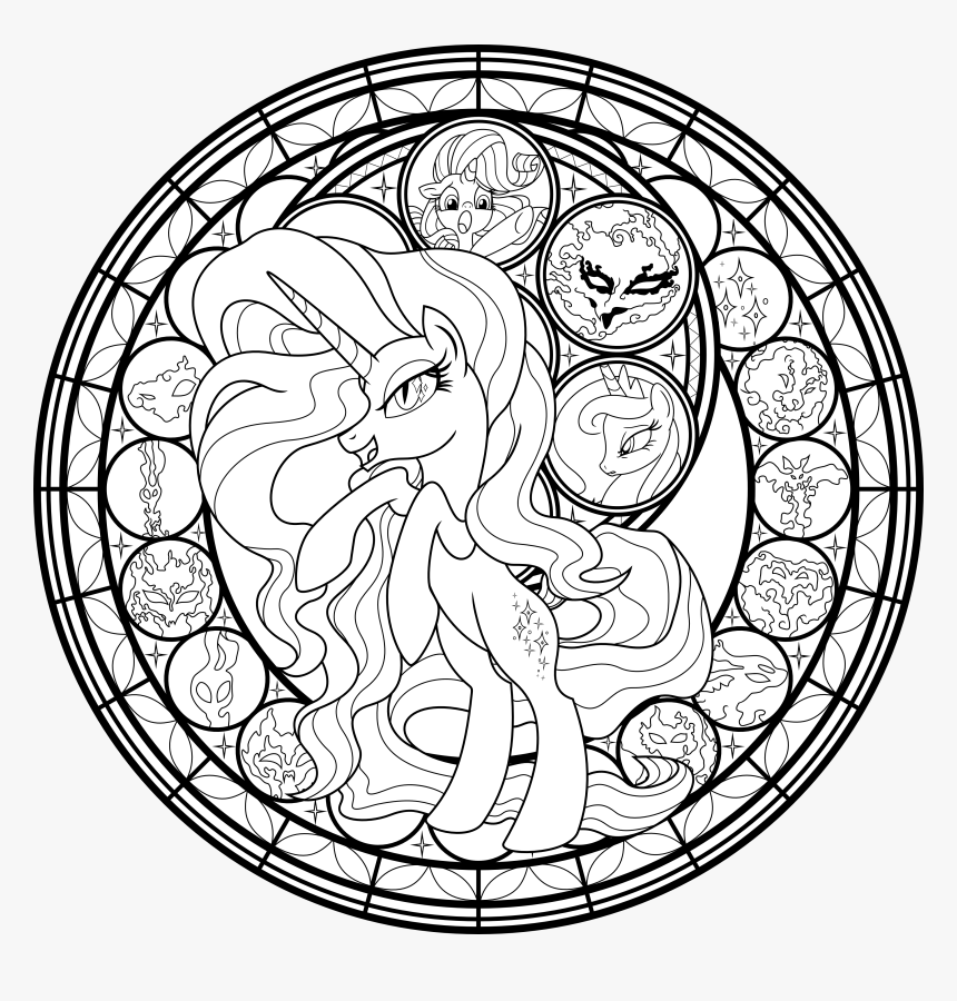 My Little Pony Rarity Coloring Pages My Little Pony Coloring Pages For Adults Hd Png Download Kindpng