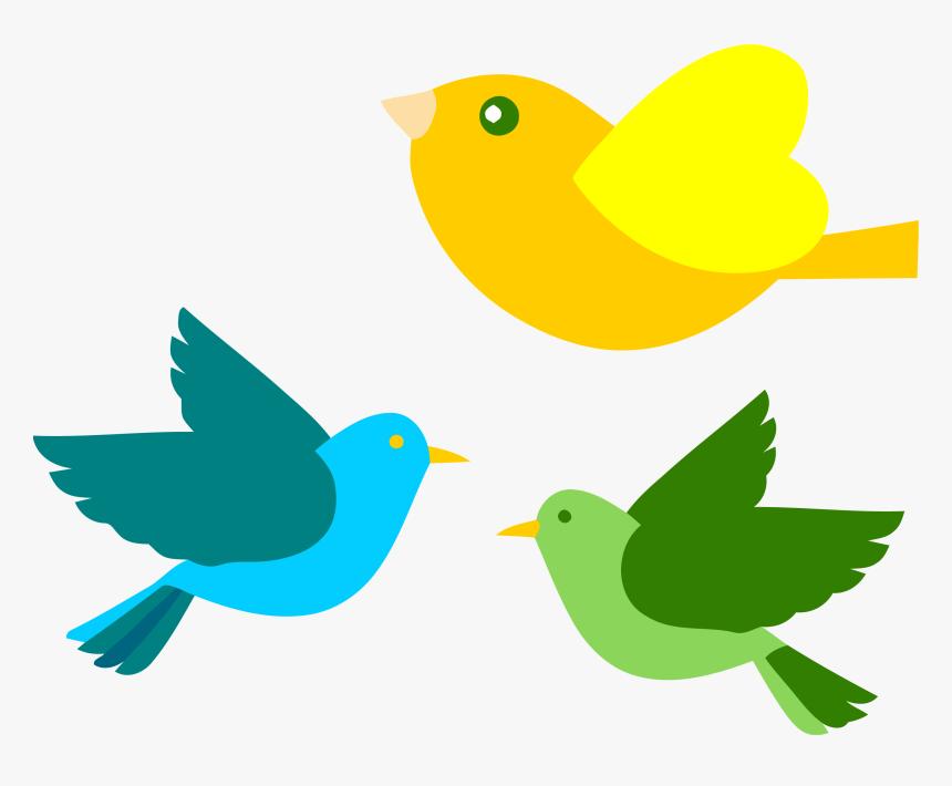 Clip Art Bird Vector Art Cute Flying Bird Clipart Hd Png Download Kindpng