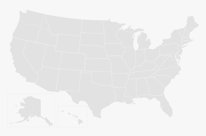 Usa map united states of america map usa map. Us Clear Map Hd Png Download Kindpng